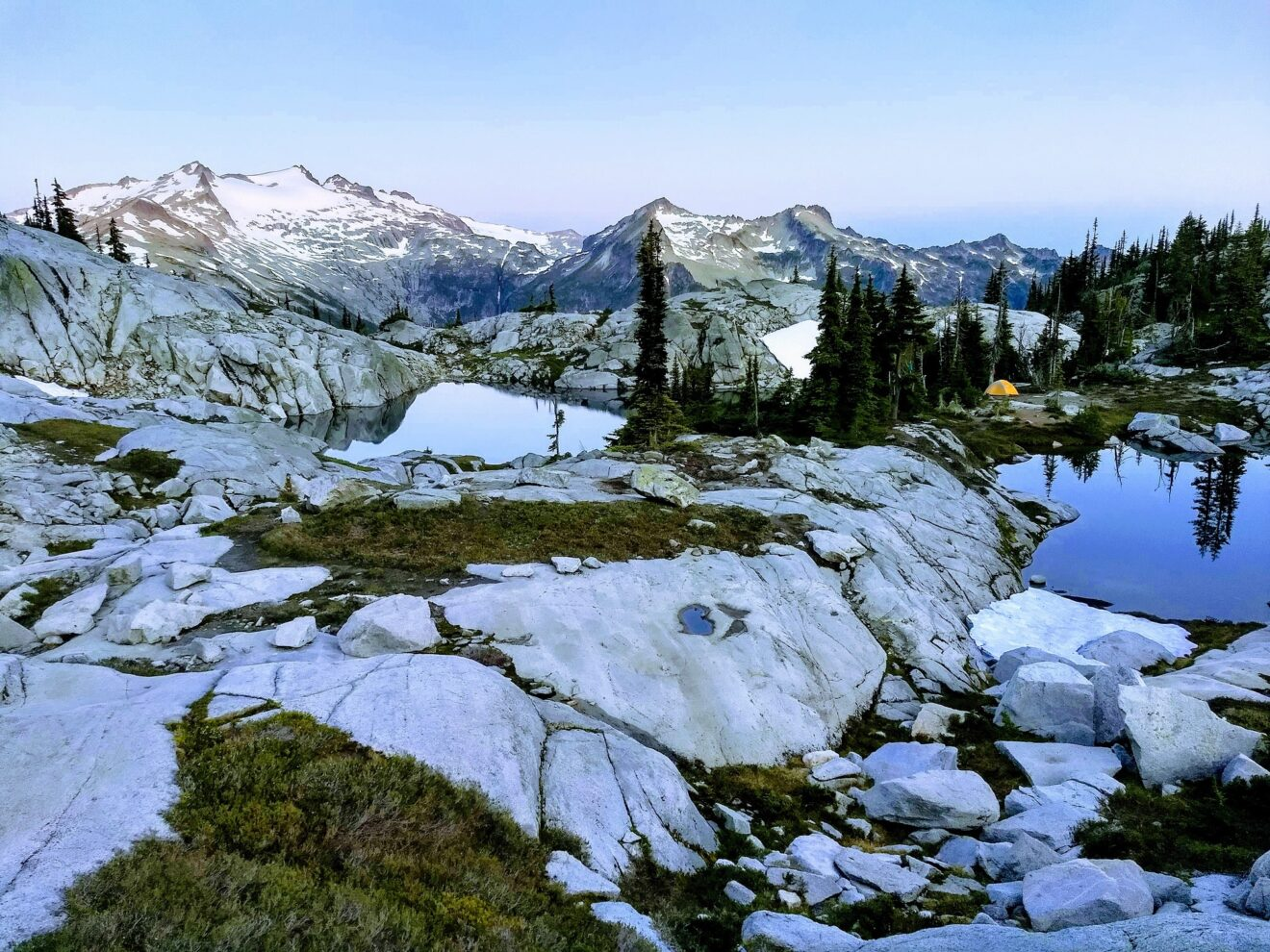 Robin Lakes, Alpine Lakes Wilderness by Cora Goss-Grubbs